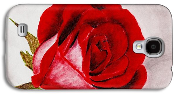Best Sellers -  - Ancient Galaxy S4 Cases - Red Rose Galaxy S4 Case by Anastasiya Malakhova