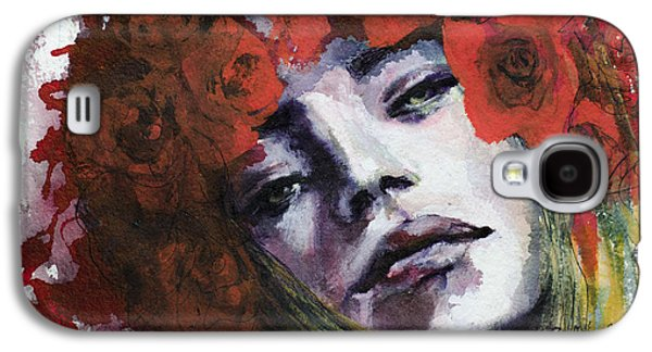 Live Art Galaxy S4 Cases - Red Roses Galaxy S4 Case by Dorina  Costras