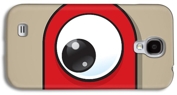 Eye-catching Galaxy S4 Cases - Red Galaxy S4 Case by Samuel Whitton