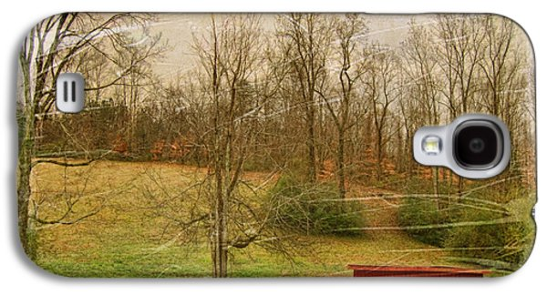 Red Shed Galaxy S4 Case by Paulette B Wright