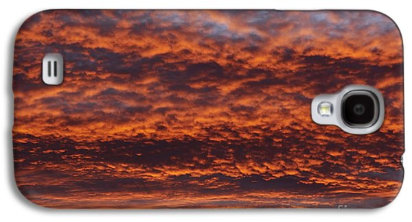 Gloaming Galaxy S4 Cases - Red Sky Galaxy S4 Case by Michal Boubin