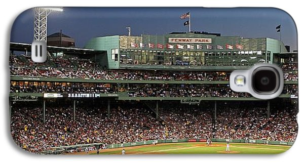 Play Photographs Galaxy S4 Cases - Red Sox and Fenway Park  Galaxy S4 Case by Juergen Roth