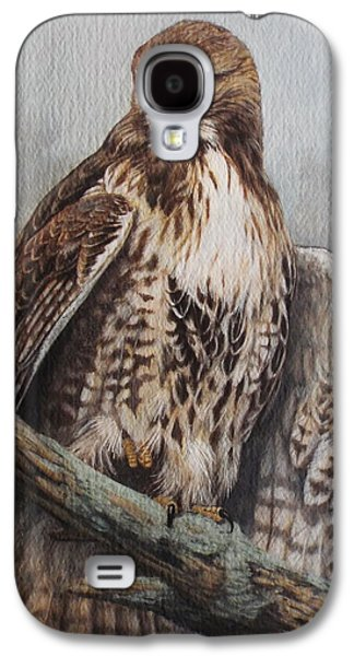 Red Tail Hawk Galaxy S4 Cases - Red Tail Hawk Galaxy S4 Case by Ken Everett