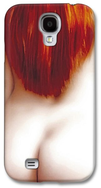 Woman Photographs Galaxy S4 Cases - Red Temptation Galaxy S4 Case by Joachim G Pinkawa
