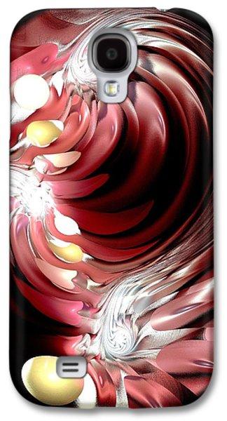 Stream Galaxy S4 Cases - Red Tides Galaxy S4 Case by Anastasiya Malakhova