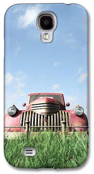 Red Truck Galaxy S4 Case by Cynthia Decker