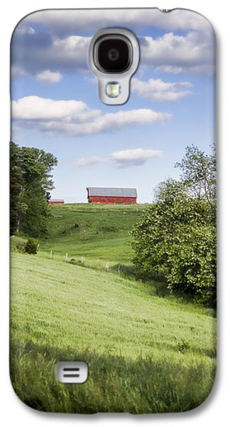 Tn Barn Galaxy S4 Cases - Red White and Blue Galaxy S4 Case by Heather Applegate