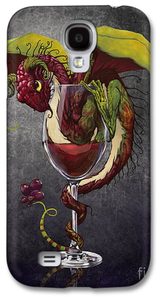 Red Wine Dragon Galaxy S4 Case by Stanley Morrison