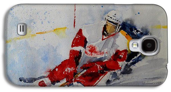 Red Wings Galaxy S4 Case by Sandra Strohschein