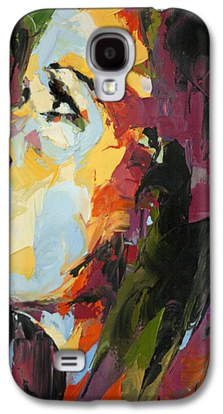 Moral Paintings Galaxy S4 Cases - Redemption Galaxy S4 Case by Julia Pappas