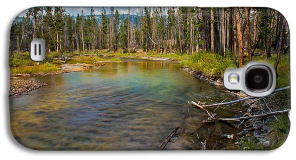 Surreal Landscape Galaxy S4 Cases - Redfish Lake Creek Galaxy S4 Case by Robert Bales