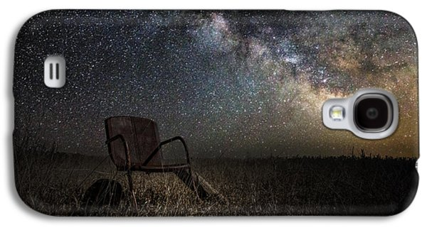 Dark Digital Art Galaxy S4 Cases - Redneck Planetarium Galaxy S4 Case by Aaron J Groen