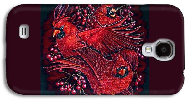 Reds Galaxy S4 Case by Linda Simon