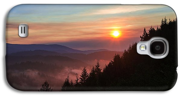 Sun Galaxy S4 Cases - Redwood Sun Galaxy S4 Case by Chad Dutson