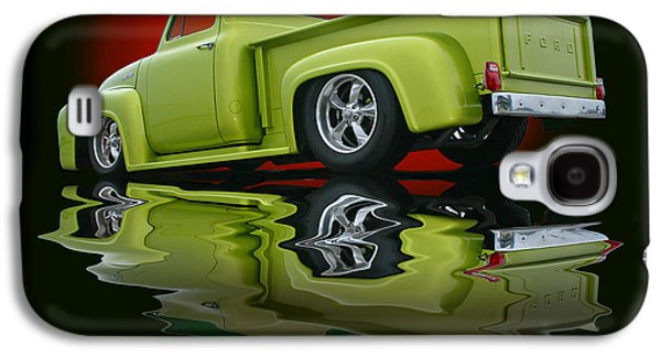 Slam Galaxy S4 Cases - Reflected F100 Galaxy S4 Case by Christopher McKenzie