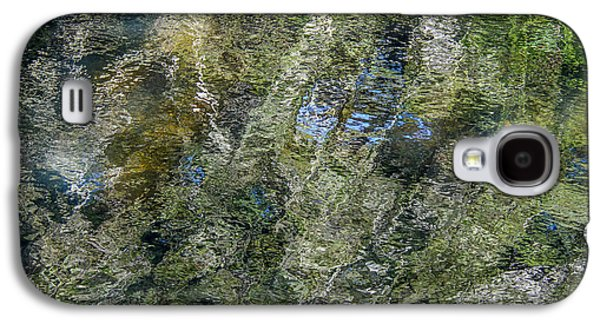 Trees Reflecting In Creek Galaxy S4 Cases - Reflection Art Galaxy S4 Case by Roxy Hurtubise
