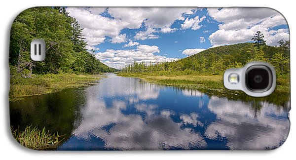 Outlet Galaxy S4 Cases - Reflection Of Clouds In Oxbow Lake Galaxy S4 Case by Panoramic Images