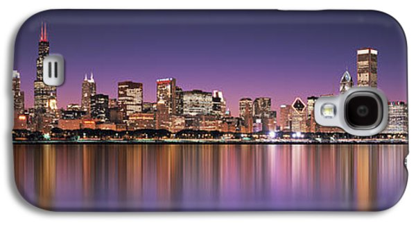 Recently Sold -  - Digital Galaxy S4 Cases - Reflection Of Skyscrapers In A Lake Galaxy S4 Case by Panoramic Images