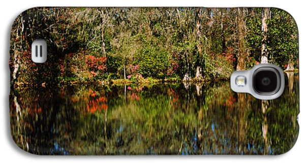 Garden Scene Galaxy S4 Cases - Reflection Of Spanish Moss Covered Galaxy S4 Case by Panoramic Images
