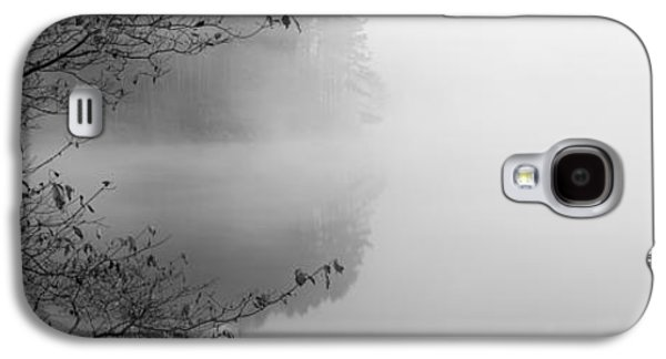 Urban Scenes Galaxy S4 Cases - Reflection Of Trees In A Lake, Lake Galaxy S4 Case by Panoramic Images