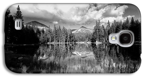 Cloudy Day Galaxy S4 Cases - Reflection Pond Galaxy S4 Case by Cat Connor