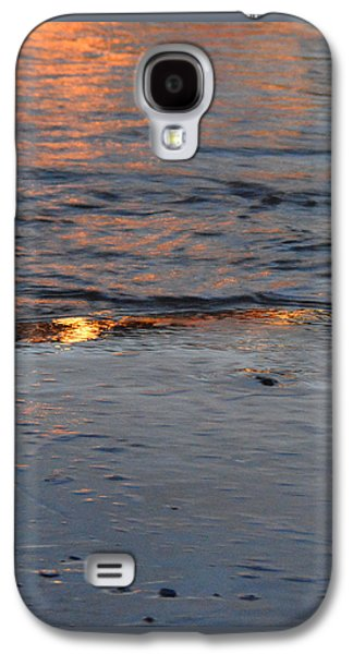 Sunset Abstract Galaxy S4 Cases - Reflections ii Galaxy S4 Case by Paul Davenport