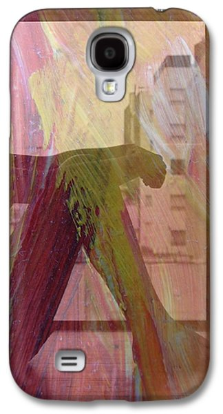 Abstract Forms Galaxy S4 Cases - Reflections Galaxy S4 Case by Irma BACKELANT GALLERIES