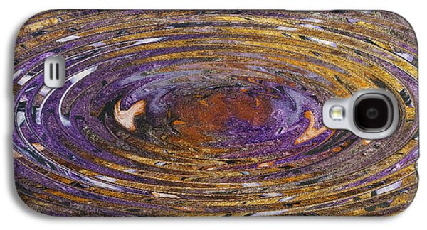 Abstract Digital Paintings Galaxy S4 Cases - Reflections Of Christmas #5 Galaxy S4 Case by Wayne Cantrell