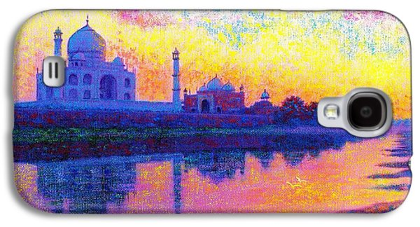 Taj Mahal, Reflections Of India Galaxy S4 Case by Jane Small