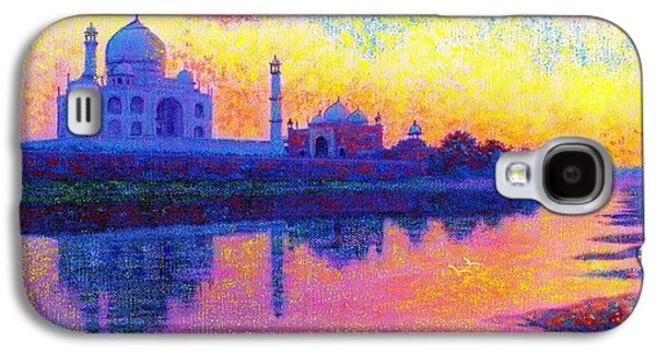 Taj Mahal, Reflections Of India Galaxy S4 Case by Jane Small