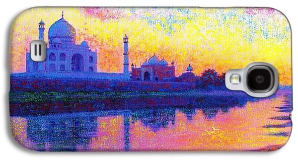 Holy Galaxy S4 Cases - Reflections of India Galaxy S4 Case by Jane Small