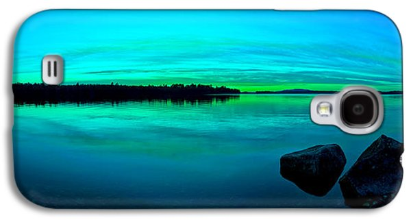 Photographic Art Galaxy S4 Cases - Reflections of Serenity Panorama Galaxy S4 Case by Bill Caldwell -        ABeautifulSky Photography