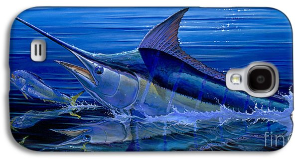 Marlin Azul Galaxy S4 Cases - Reflections Off0058 Galaxy S4 Case by Carey Chen