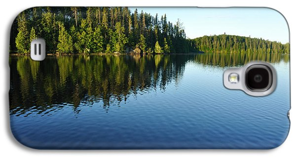 Bwcaw Galaxy S4 Cases - Reflections on a Wilderness Lake Galaxy S4 Case by Mark Herreid