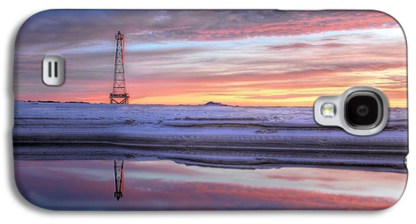 Florida Panhandle Galaxy S4 Cases - Reflections on Pensacola Bay Galaxy S4 Case by JC Findley