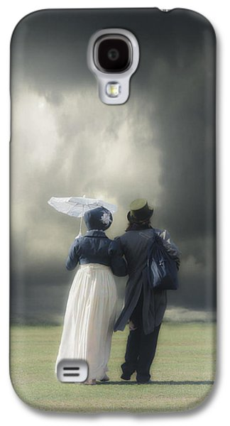 Person Galaxy S4 Cases - Regency couple Galaxy S4 Case by Joana Kruse