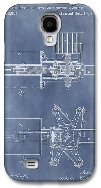 Electricity Drawings Galaxy S4 Cases - Regulator For Dynamo Electric Machine Patent Galaxy S4 Case by Dan Sproul