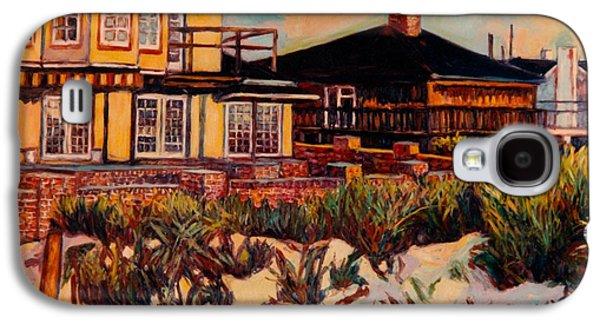 Beach Landscape Galaxy S4 Cases - Rehoboth Beach Houses Again Galaxy S4 Case by Kendall Kessler