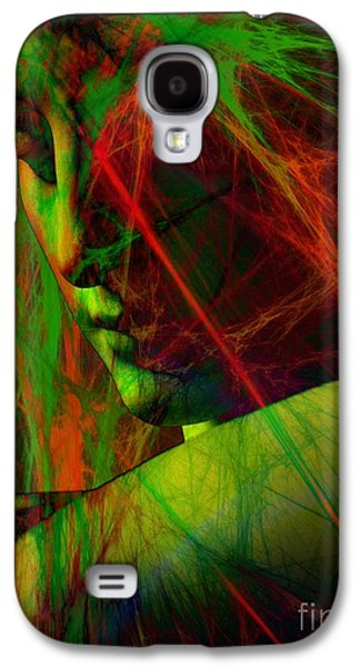 Statue Portrait Galaxy S4 Cases - Reinvention  Galaxy S4 Case by Elizabeth McTaggart