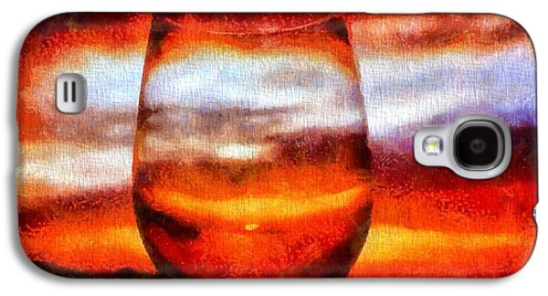 Wine Sipping Galaxy S4 Cases - Relaxing Sunset Galaxy S4 Case by Dan Sproul