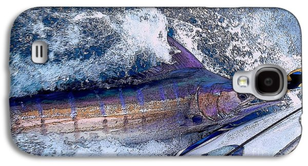 Marlin Galaxy S4 Cases - Release Galaxy S4 Case by Carey Chen