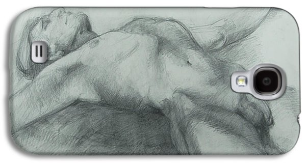 Lounge Drawings Galaxy S4 Cases - Release Galaxy S4 Case by Cynthia Harvey