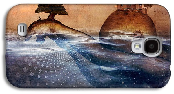 Photoshop Digital Art Galaxy S4 Cases - Release Me Galaxy S4 Case by Cameron Gray