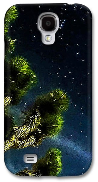 Light Galaxy S4 Cases - ReLeasinG The STaRS Galaxy S4 Case by Angela J Wright