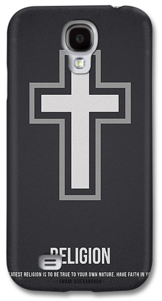 Religious Drawings Galaxy S4 Cases - Religion Galaxy S4 Case by Aged Pixel