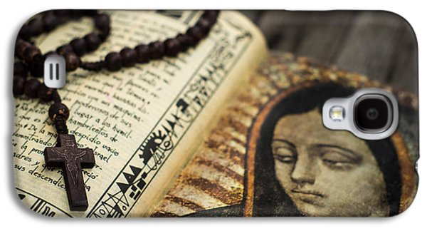 Rosary Galaxy S4 Cases - Religious Concept Galaxy S4 Case by Aged Pixel
