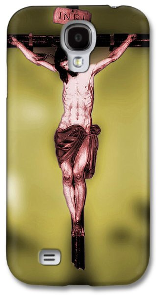 Crucifixtion Galaxy S4 Cases - Religious icon Galaxy S4 Case by Brian Grady