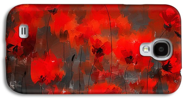 In Bloom Galaxy S4 Cases - Remembrance Galaxy S4 Case by Lourry Legarde