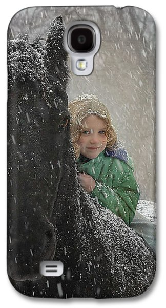 Christmas Galaxy S4 Cases - Remme And Rory Galaxy S4 Case by Fran J Scott