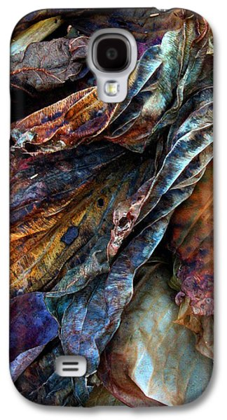 Abstract Nature Galaxy S4 Cases - Remnants Galaxy S4 Case by Jessica Jenney